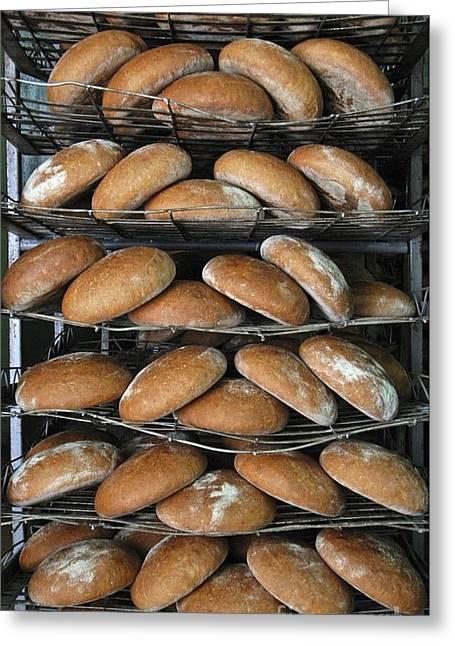 Baking Bread Greeting Card by RIA Novosti