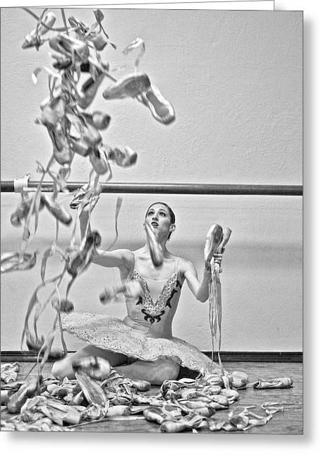 Ballet Greeting Card by Kike Calvo
