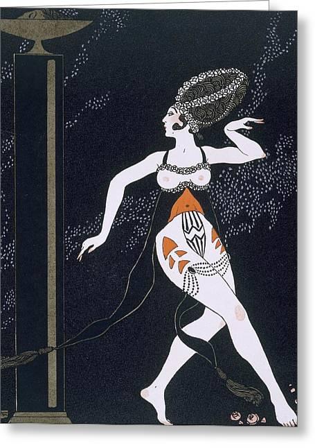 Ballet Scene With Tamara Karsavina Greeting Card