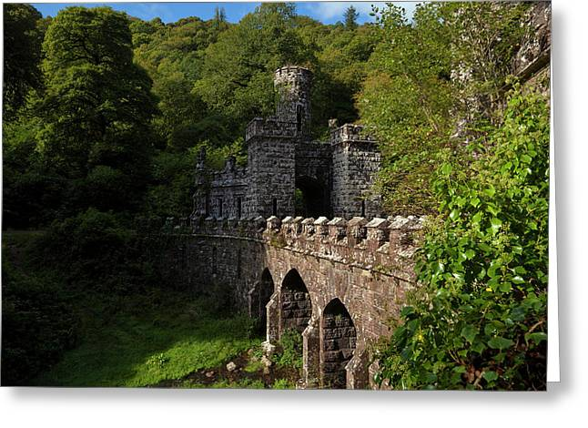 Ballysaggartmore Towers - A Victorian Greeting Card by Panoramic Images