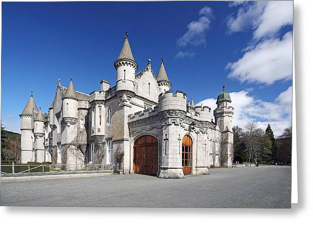 Balmoral Castle Greeting Card by Grant Glendinning