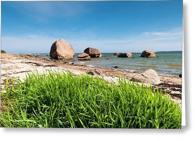 Baltic Sea, Vana Juri Ots, Estonia Greeting Card