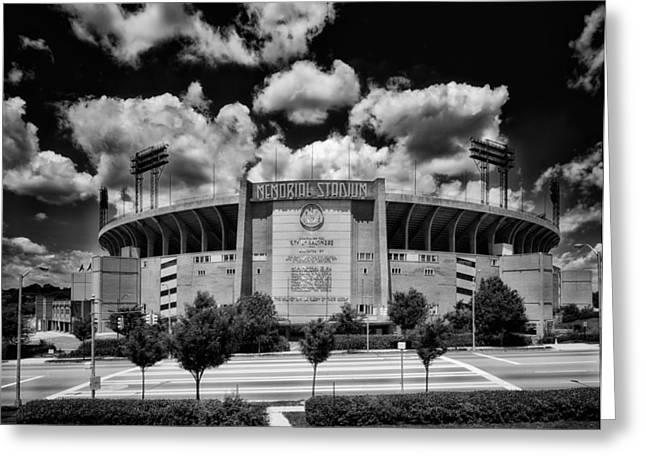 Baltimore Memorial Stadium 1960s Greeting Card
