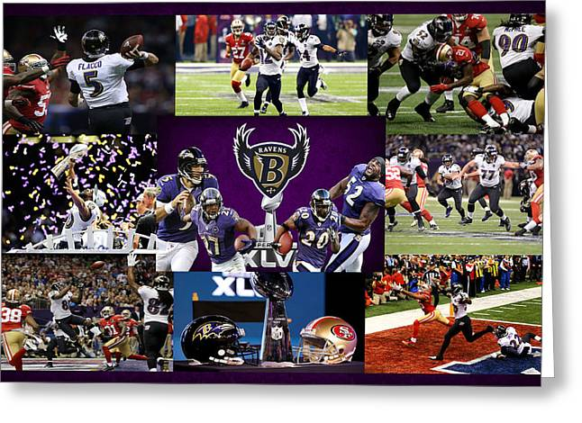 Baltimore Ravens Greeting Card