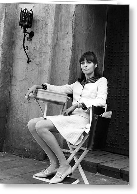 Barbara Feldon In Get Smart  Greeting Card by Silver Screen