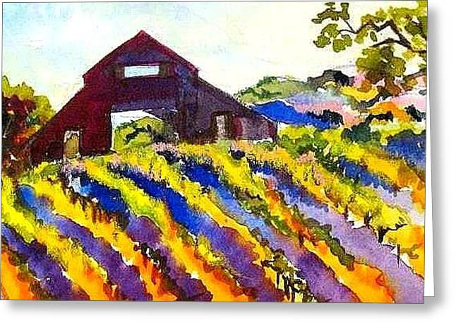 Barn In Sonoma Greeting Card