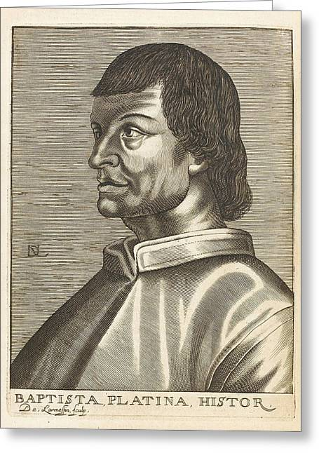 Bartolommeo De Sacchi Known Greeting Card by Mary Evans Picture Library
