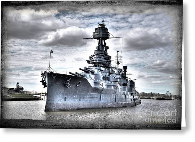 Battleship Texas Greeting Card