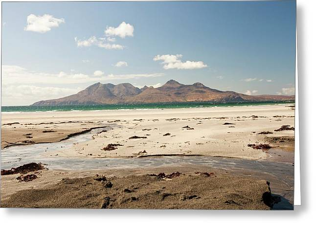 Bay Of Laig At Cleadale Greeting Card by Ashley Cooper