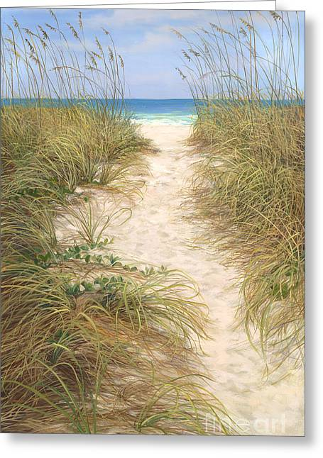 Beach Access Greeting Card