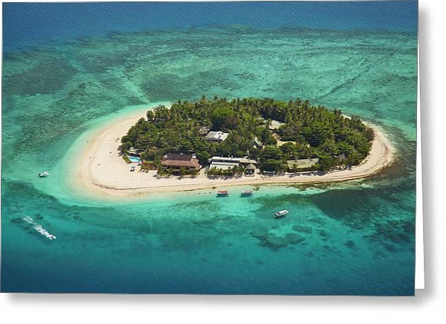 Beachcomber Island Resort, Mamanuca Greeting Card
