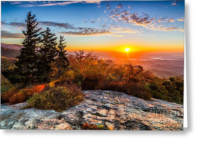 Beacon Heights Sunrise Greeting Card