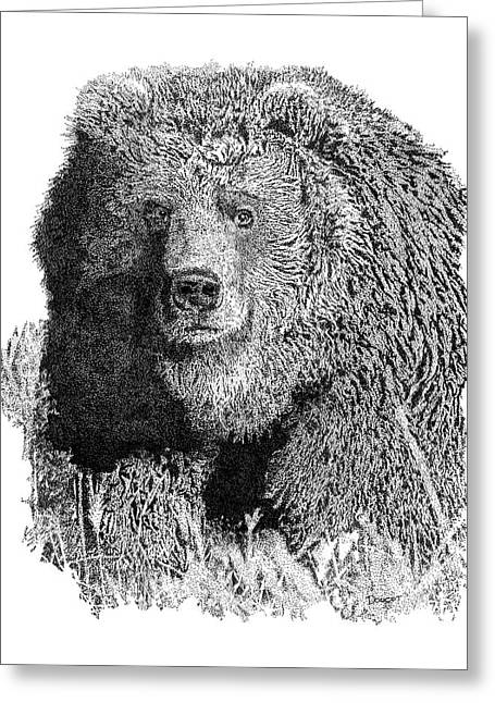 Bear 1 Greeting Card