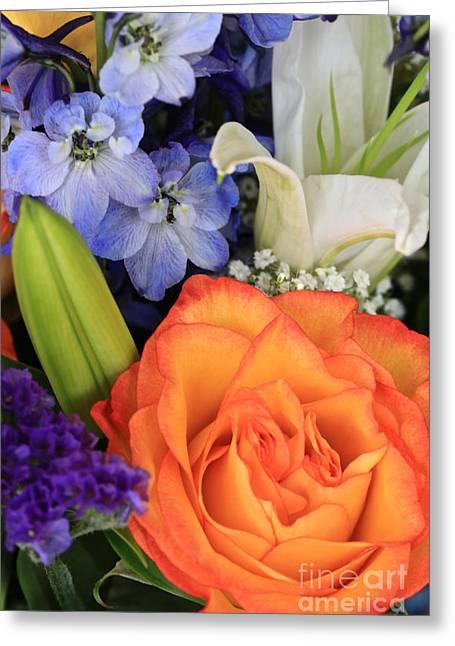 Beautiful Bouquet Greeting Card by Carol Groenen