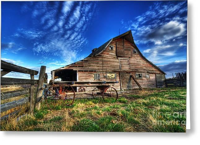 Beauty Of Barns 8 Greeting Card