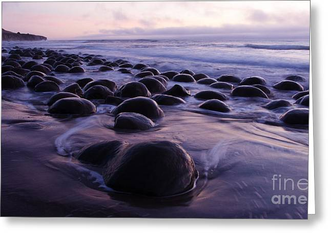 Beauty Of California Bowling Ball Beach 1 Greeting Card by Bob Christopher