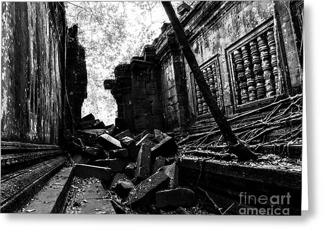 Beng Mealea Greeting Card