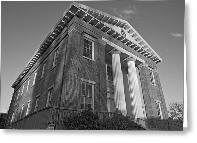 Benicia State Capitol Greeting Card by Brian Maloney