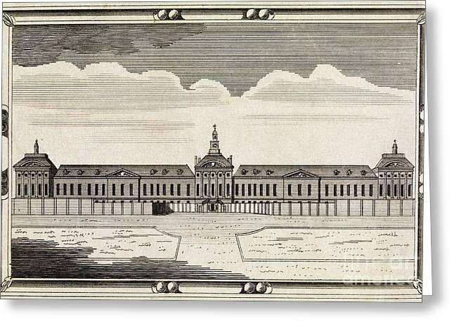 Bethlem Hospital, 18th Century Greeting Card by Middle Temple Library