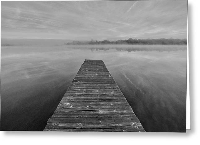 Bettis Landing Greeting Card by Donnie Smith