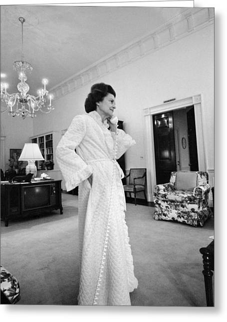 Betty Ford (1918-2011) Greeting Card