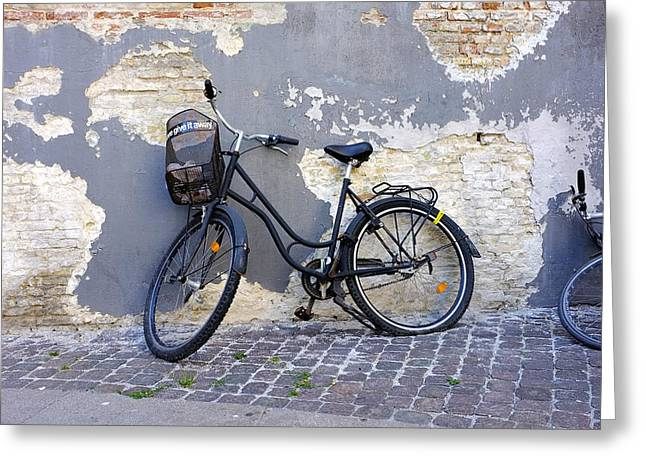 Bicycle Copenhagen Denmark Greeting Card