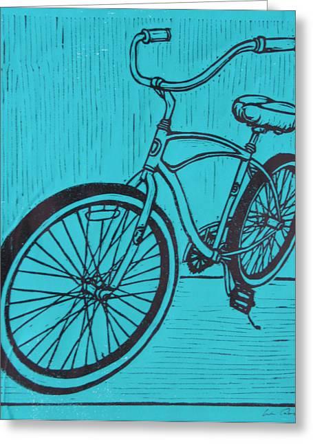 Bike 6 Greeting Card