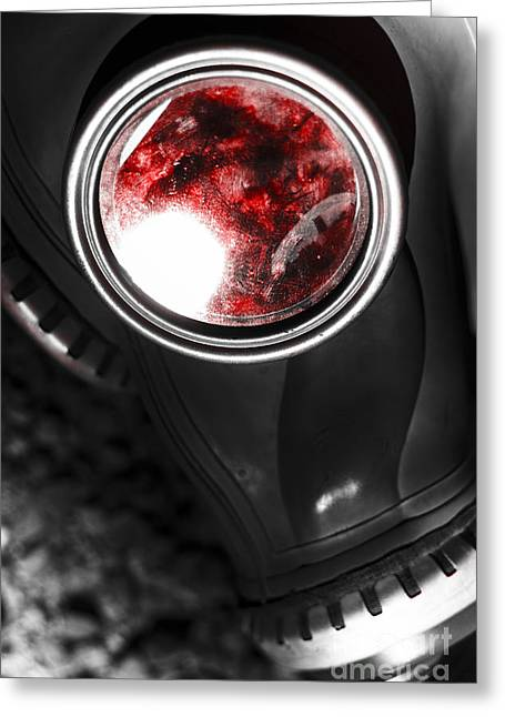 Blood Of War Greeting Card by Jorgo Photography - Wall Art Gallery