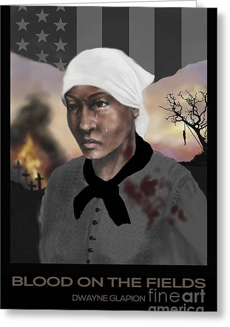 Blood On The Fields Greeting Card