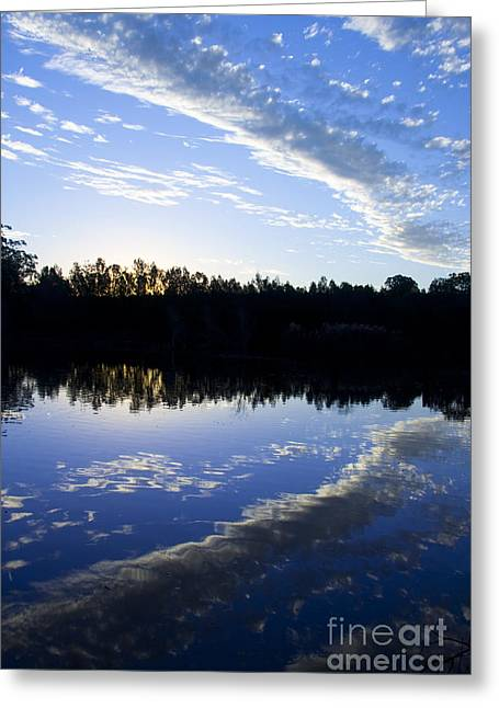 Blue Lagoon Greeting Card by Jorgo Photography - Wall Art Gallery