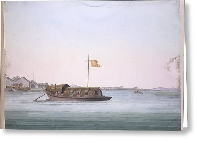 Boat Greeting Card by British Library