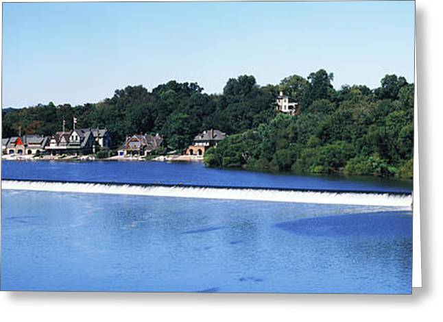 Boat House Row And Fairmount Water Greeting Card