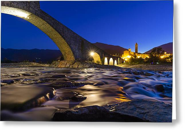 Bobbio Greeting Card