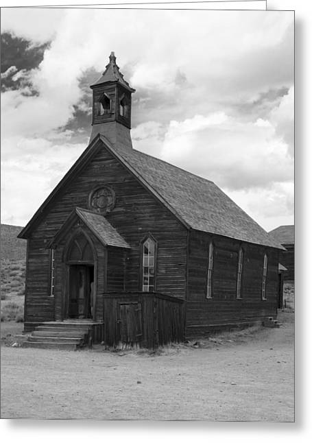 Bodie Church Greeting Card by Jim Snyder
