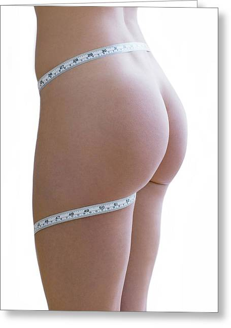 Body Image Greeting Card by Ian Hooton/science Photo Library