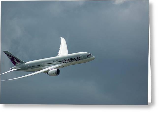 Boeing 787 Dreamliner Greeting Card