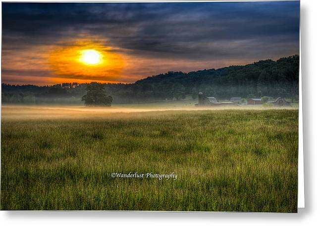 Bohannon Farm  Greeting Card by Paul Herrmann