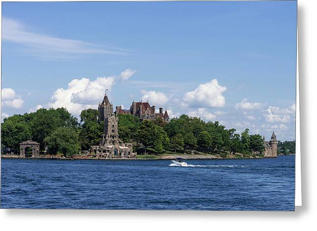 Boldt Castle In Thousand Islands, New Greeting Card