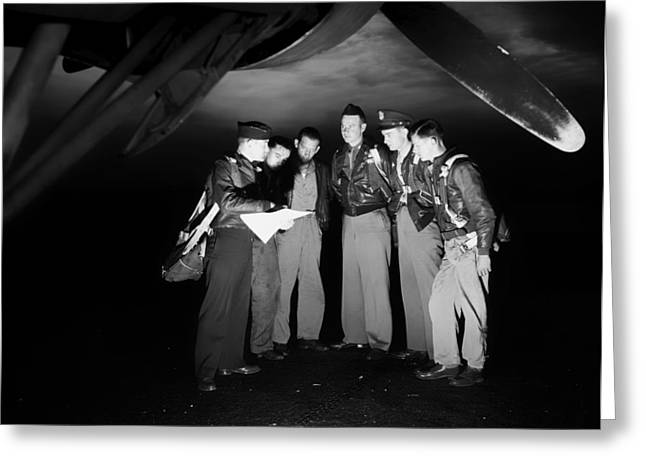 Bomb Crew Final Instructions 1942 Greeting Card