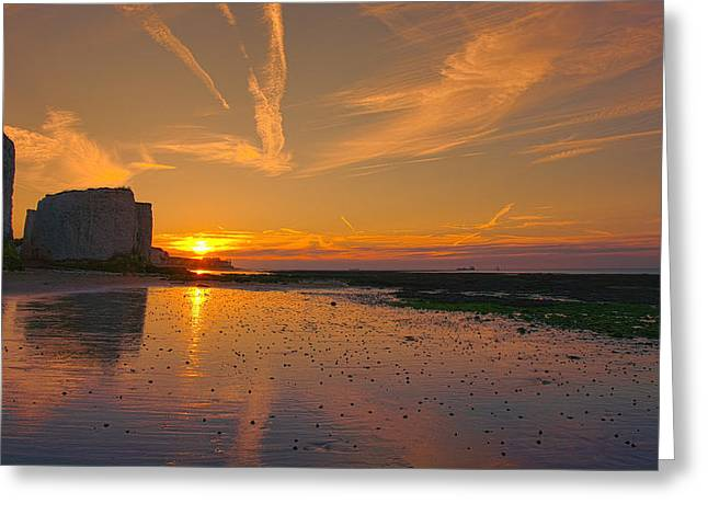 Botany Bay Sunset Greeting Card