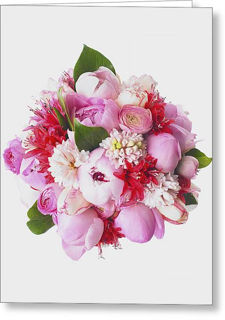 Bouquet Of Flowers Greeting Card by Eric Kulin