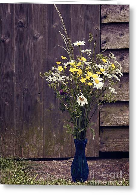 Bouquet Greeting Card by Svetlana Sewell