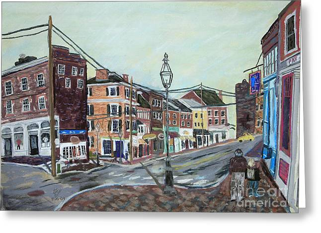 Bow Street As You Were Greeting Card