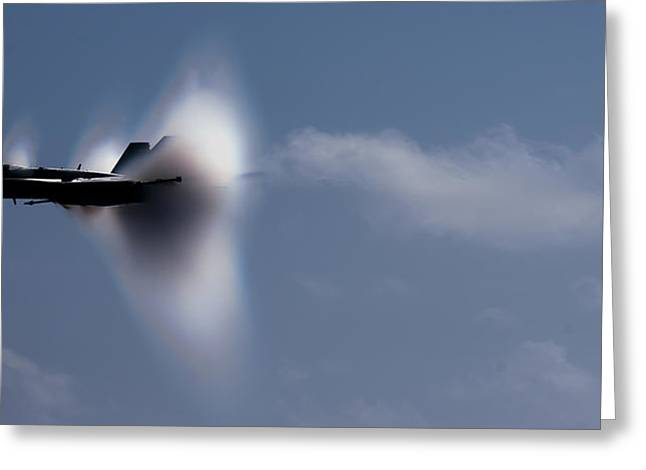 Breaking The Sound Barrier Greeting Card