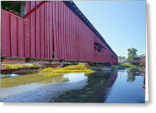 Bridgeton Bridge And Mill Greeting Card