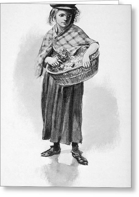 Britain Child Labor, 1905 Greeting Card