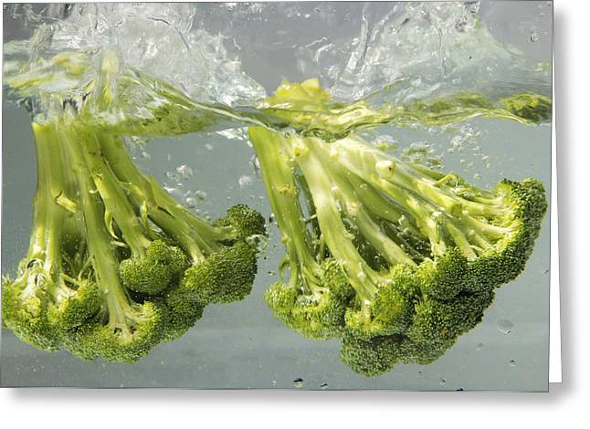 Broccoli Greeting Card by Science Source