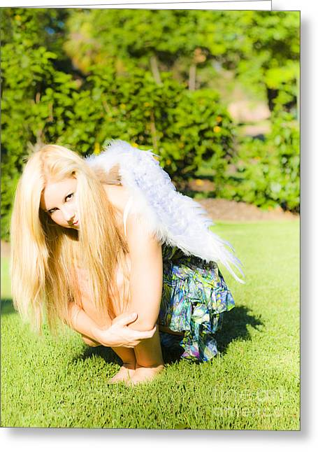 Broken Wings Greeting Card by Jorgo Photography - Wall Art Gallery