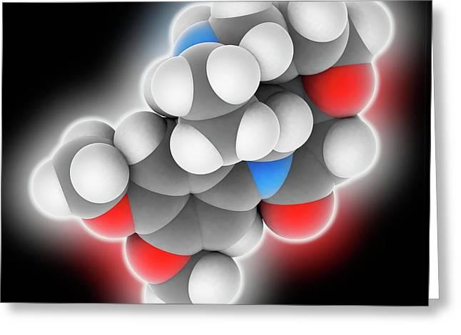 Brucine Molecule Greeting Card