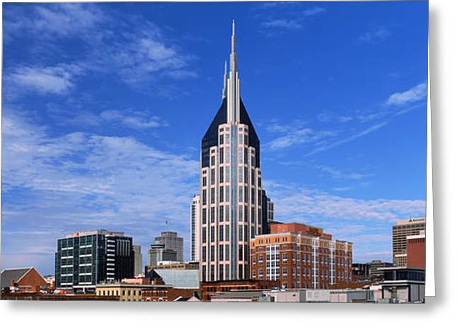 Buildings In A City, Bellsouth Greeting Card by Panoramic Images